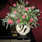Giftware can be used for floral arrangements.