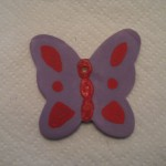 A finished butterfly.