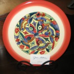 Hand-painted plates - $25 each