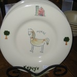 Horse plate - $25