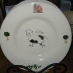 Cow plate - $25