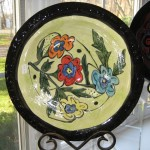 Medium hand-painted bowl - $75