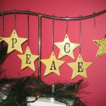 Letter ornaments - $2.75 each