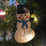 Snowmen ornaments - $2.25 each