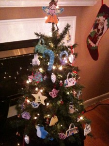 My Christmas Tree was almost entirely made with Jean Elton ornaments!