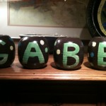 Customized Letter Jars