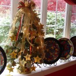 Letter Ornament Tree