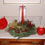 Christmas Items & Wreath