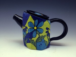 Funky Teapots (made from extruder)
