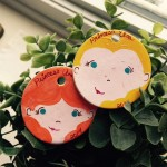 Anna and Elsa Ornaments